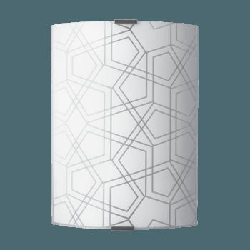 Осветително тяло за стена аплик серия - Triada Бяло мат