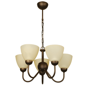 Висящо осветително тяло полилеи серия - Verona 5xE14