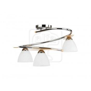 Осветително тяло за таван серия - Archimedes silver 3345