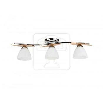 Осветително тяло за таван серия - Archimedes silver   3347