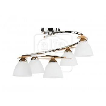 Осветително тяло за таван серия - Archimedes silver  5345