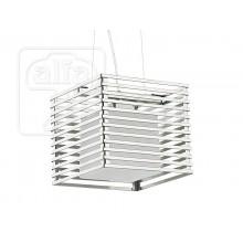 Висящо осветително тяло пендел серия - Cage silver х 2