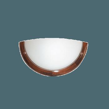 Осветително тяло за стена аплик серия - Wood Ring - 010102 - тъмен бор