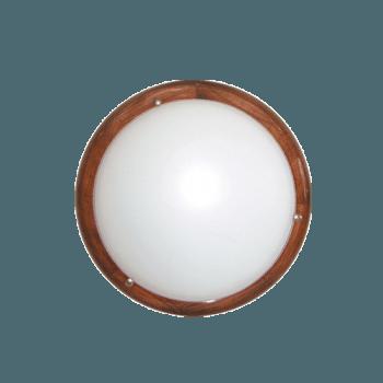 Осветително тяло за таван плафон серия - Wood Ring - 010202 - тъмен бор