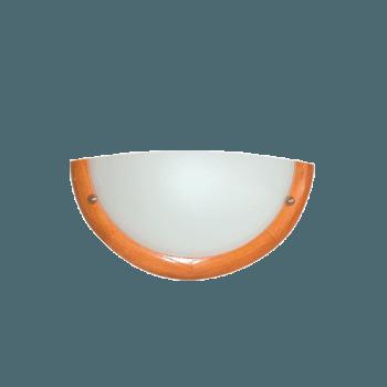 Осветително тяло за стена аплик серия - Wood Ring - 010113 - череша