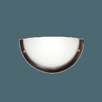 Осветително тяло за стена аплик серия - Wood Ring - 010114 - венге