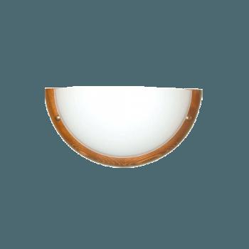 Осветително тяло за стена аплик серия - Wood Ring - 010115 - круша