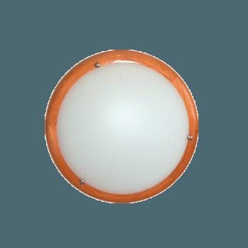 Осветително тяло за таван плафон серия - Wood Ring - череша