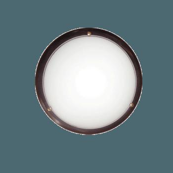 Осветително тяло за таван плафон серия - Wood Ring - 010214 - венге