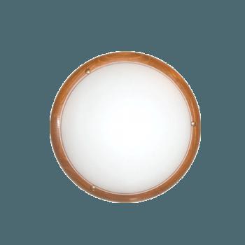 Осветително тяло за таван плафон серия - Wood Ring - 010215 - круша