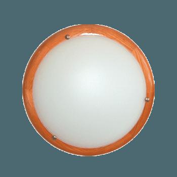 Осветително тяло за таван плафон серия - Wood Ring - 010313 - череша