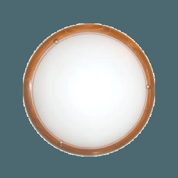 Осветително тяло за таван плафон серия - Wood Ring - 010315 - круша