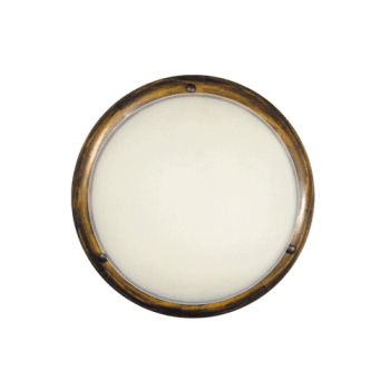 Осветително тяло за таван плафон серия - Wood Retro - 102402 - ретро кафяв