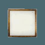 Осветително тяло за таван плафон квадрат серия - Wood Retro - 102403 - ретро кафяв