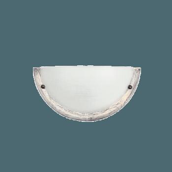 Осветително тяло за стена аплик серия - Wood Retro - 102501 -  ретро бял