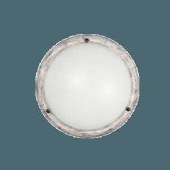 Осветително тяло за таван плафон серия - Wood Retro - 102502 - ретро бял
