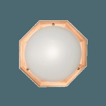 Осветително тяло за таван плафон серия - Wood Figure - 010204 - светъл бор