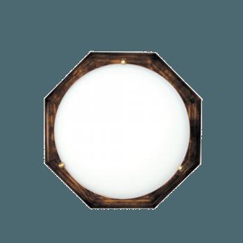 Осветително тяло за таван плафон серия - Wood Figure - 010205 - тъмен бор
