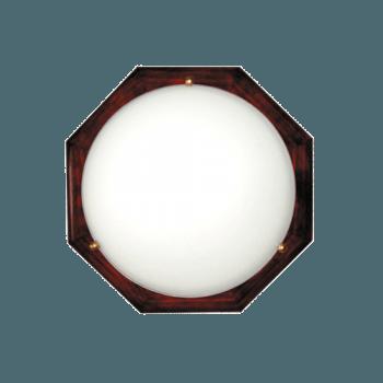 Осветително тяло за таван плафон серия - Wood Figure - 010210 - махагон