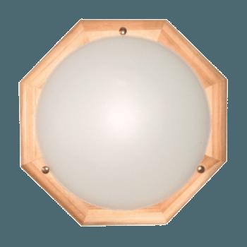 Осветително тяло за таван плафон серия - Wood Figure - 010304 - светъл бор