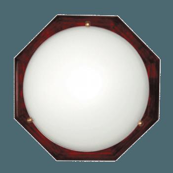 Осветително тяло за таван плафон серия - Wood Figure - 010310 - махагон