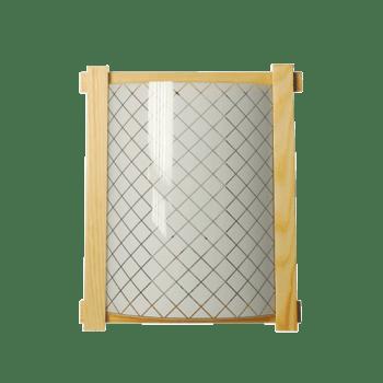 Осветително тяло за стена аплик светъл бук серия - Frame