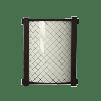 Осветително тяло за стена аплик махагон серия - Frame