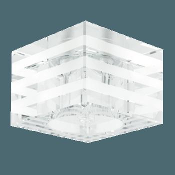 Луна стъклена стационарна квадрат GU5.3