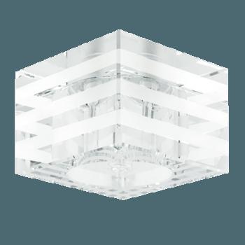 Луна стъклена стационарна квадрат  G4