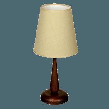 Настолна лампа серия - Cuba ᴓ 200 Палисандър + Екрю