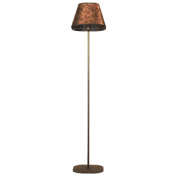 Лампион серия - Lombardia pyramid brown 1х60W