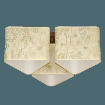 Осветително тяло за таван серия - Magelan 3x60W