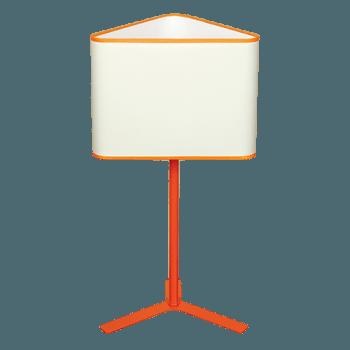Настолна лампа серия - Modena 1x60W оранжев