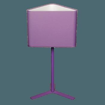 Настолна лампа серия - Monca 1x60W лилав