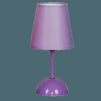 Настолна лампа серия - Pony ᴓ 130 лилав
