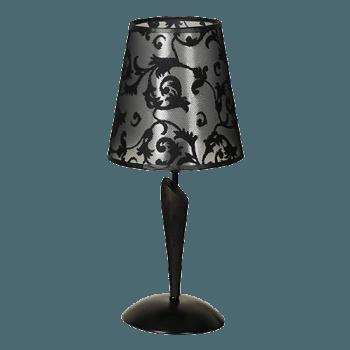 Настолна лампа серия - Rege ᴓ 200 Черен