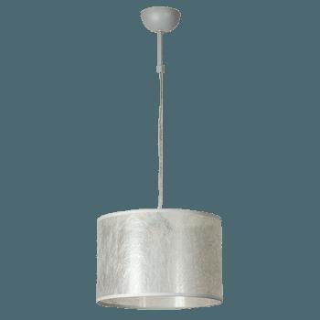 Висящо осветително тяло серия - Seta 1x60W сребро
