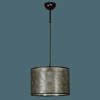 Висящо осветително тяло серия - Seta 1x60W черен