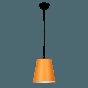 Висящо осветително тяло серия - Tuist 1x60W  оранжев
