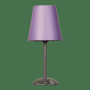 Настолна лампа серия - Tuist 1х60W лилав