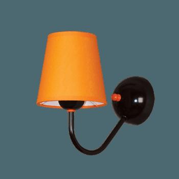 Осветително тяло за стена серия - Tuist 1х60W оранжев