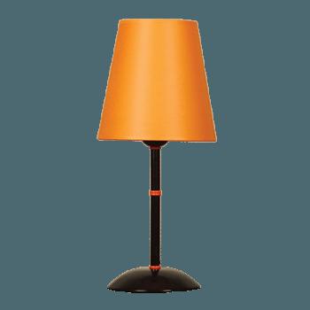 Настолна лампа серия - Tuist 1х60W оранжев
