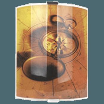 Осветително тяло за стена aплик серия - Compass 27/21