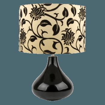 Настолна лампа серия - Bloom Black  RL0100060В