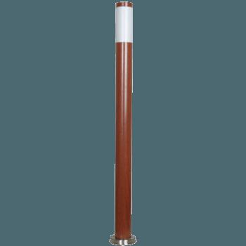 Градинско oсветително тяло тъмно дърво RL/GT5505-1100DW