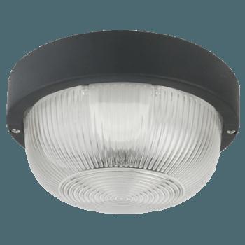 KAME/В Ф180 пластмаса / стъкло E27 60W IP44