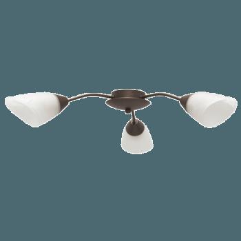 Осветително тяло за таван полилеи серия - Sigma 3xE14, Патина