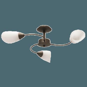 Осветително тяло за таван полилеи серия - Aura 3xE14, Патина