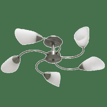 Осветително тяло за таван полилеи серия - Aura 2 stainless Steel