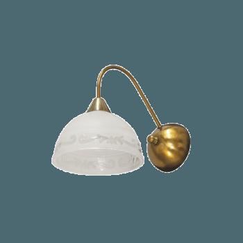 Осветително тяло за стена серия - Omega 2 gold 210021